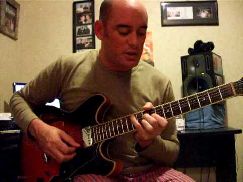 Dix Nacey Jazz Guitar Lesson 17: Melodic Minor chords