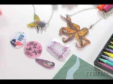 Make It Mine Magazine - Coloring Shrink Plastic