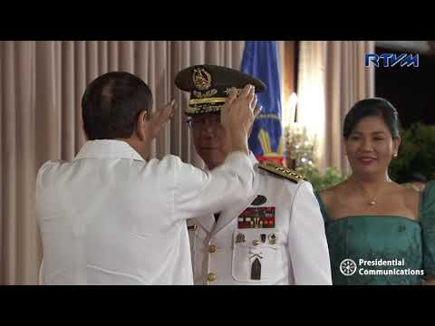 Oath Taking Ceremony of the Newly Promoted Generals and Flag Officers of the AFP 5/8/2018