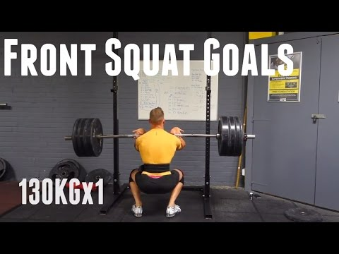 Front Squat Goals | Squat Every Day #3