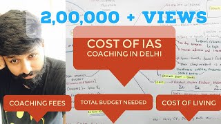 COST OF IAS coaching IN DELHI : Coaching fees, Cost of Living , Monthly Budget : IAS Inspiration