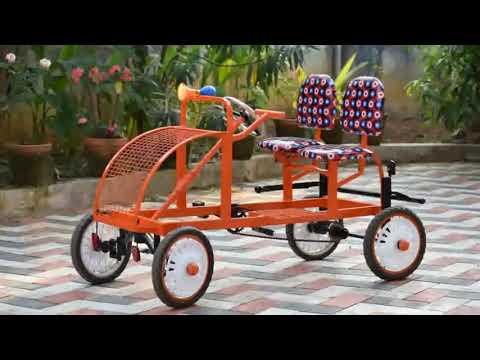 Home made pedal car