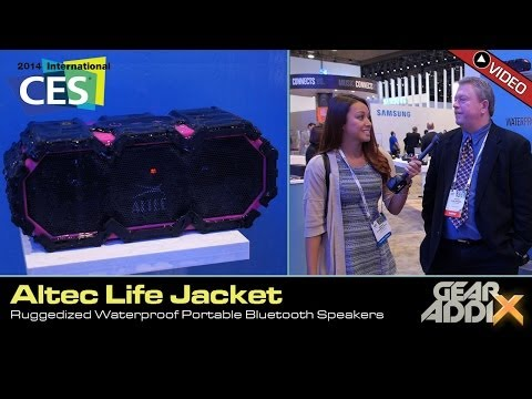 Altec Life Jacket-  Rugged Waterproof Bluetooth Portable Speaker (CES 2014)