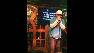 Jörg Fricke sings Karaoke at Jameson