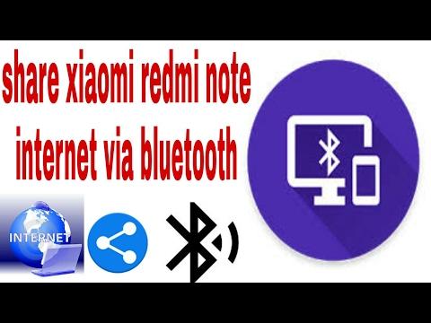 How to share xiaomi redmi note 4 internet via Bluetooth