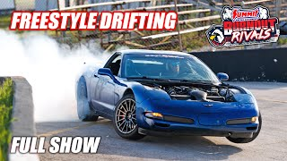 Summit Racing BURNOUT RIVALS at the Freedom Factory!!! *FULL SHOW* (w/Vaughn Gittin Jr.)