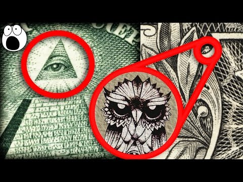 Secret Hidden Symbols in US Dollars