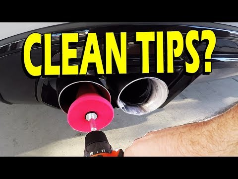 Exhaust Tips Cleaning Guide - Clean Your Tips!