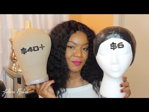 DIY CUSTOM MANNEQUIN | WIG WILL FIT PERFECT EVERY TIME