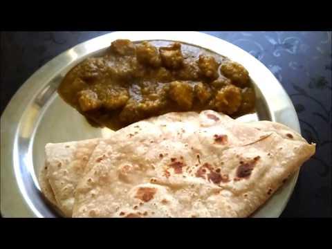Palak Babycorn Gravy for chapathi, Roti, paratha