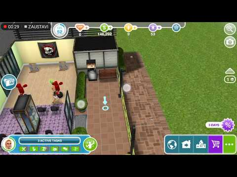Sims Freeplay - Make a fancy coffee at the Community center