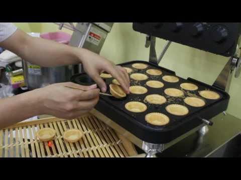 Waffle Egg Tart Shell Maker Machine