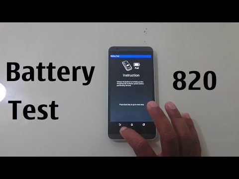 HTC Desire 820 Battery Test