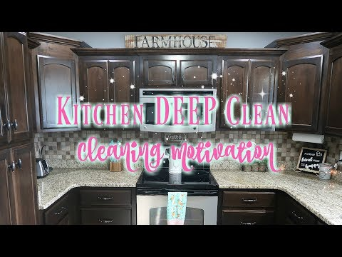 Cleaning Motivation/Kitchen Deep Clean/Kitchen Cleaning Routine/Watch Me Clean Wednesday