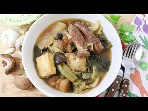 Pork and Mixed Veggie Soup ต้มจับฉ่าย - Episode 127