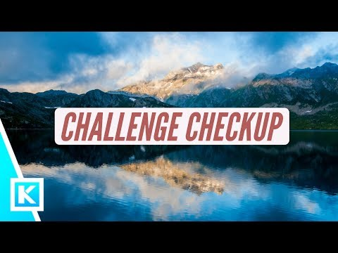 Challange Progress Checkup