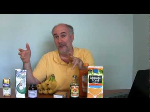Natural sources of dietary potassium