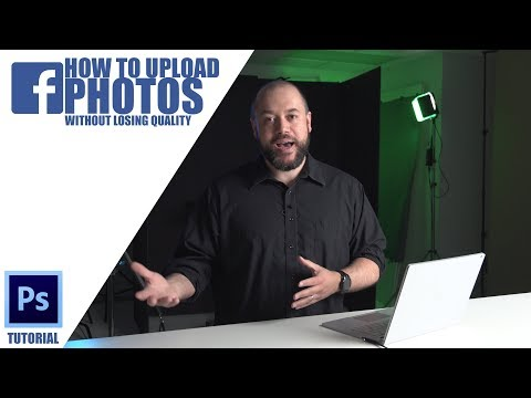 How To Upload Photos To Facebook & Instagram In HIGH RESOLUTION Using Adobe Photoshop