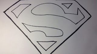 How To Draw Superman S Logo