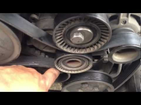 HOW TO Completely Replace Belt Tensioner 97-03 BMW 5-SERIES E39 528I 540I M5 M52