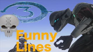 Lines Of Halo - Halo 3 Elites (funny Dialogue)