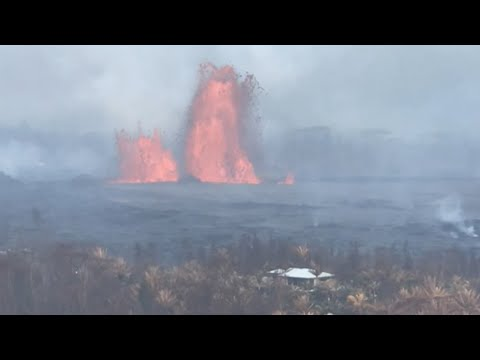 Flowing Lava Threatens Hawaii Geothermal Plant