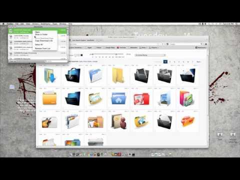 How to change folder/app icons MAC