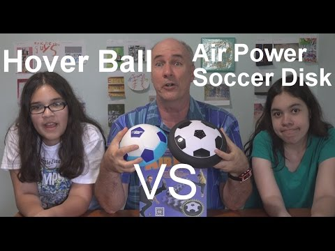 Special Update- Hover Ball vs Air Power Soccer Disk | EpicReviewGuys in 4k CC