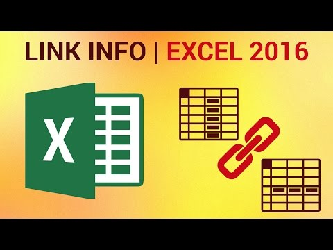 How to Link Excel 2016 Files