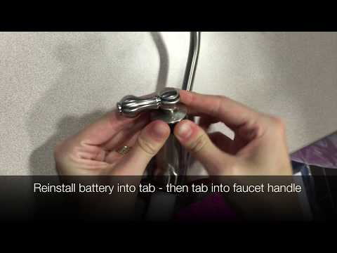 Faucet Battery Reset (Pure Blue H2O 4 Stage RO System)