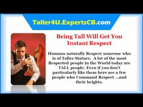 Grow taller - How to get taller fast