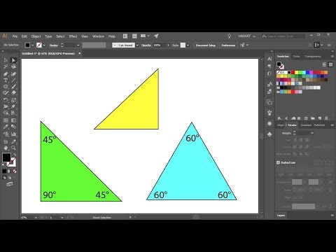 How to Draw a Triangle in Adobe Illustrator - Quick Tips
