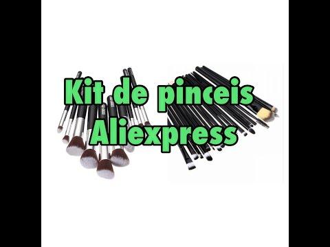 Kit de pinceis Aliexpress