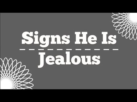 12 Signs He Is Jealous | Simply me