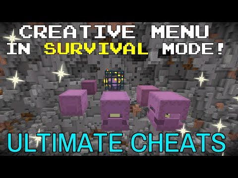 Creative Menu in Survival - ULTIMATE CHEATS for Console Minecraft (Current Gen)
