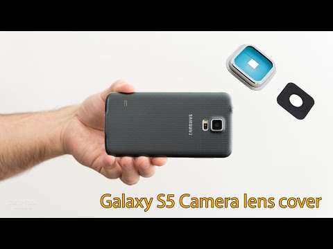 How to replace Samsung Galaxy S5 camera lens cover - Galaxy S5 camera lens repair