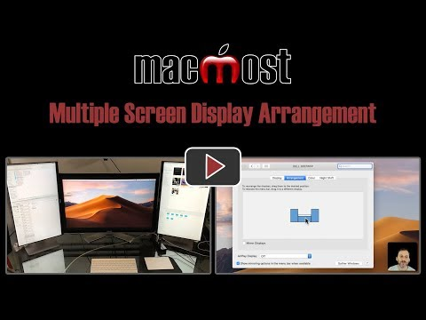 Multiple Screen Display Arrangement (MacMost #1804)