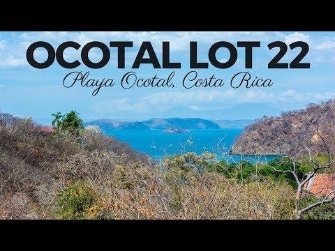 *** FOR SALE *** Ocotal Lot 22 – Playa Ocotal, Guanacaste, Costa Rica