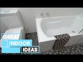 Creative Small Bathroom Makeover On A Budget | Indoor | Great Home Ideas