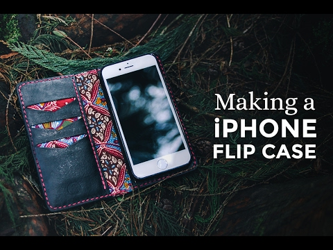 Making a iPhone Leather Flip Case ⧼Week 7/52⧽