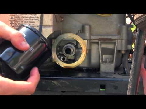 How To: Riding Lawnmower Oil Change