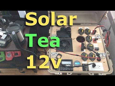 Solar Tea 12v