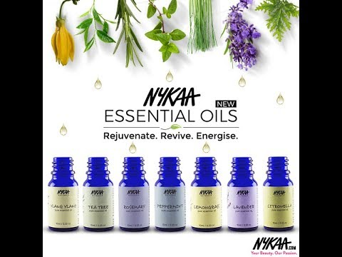 *NEW* Nykaa Pure Essential Oils Review | How To Use Essential Oils | All Variants