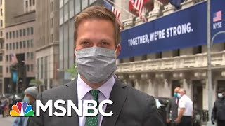 Gov. Andrew Cuomo Rings Bell As NYSE Floor Reopens With New Restrictions | Stephanie Ruhle | MSNBC