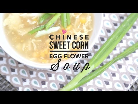 Chinese Egg Flower Soup | Easy 5 Minute Recipe