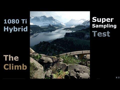 The Climb - VR Performance Test - 4790k - 1080 Ti Hybrid