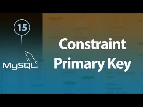 Learn MySQL In Arabic #15 - Constraint - Primary Key