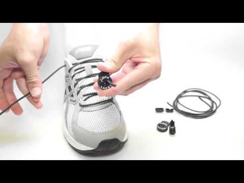 Lock Laces Instructions - How to Install your Lock Laces