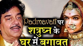 Sonakshi Sinha And Shatrughan Sinha Against Each Other for Padmavati