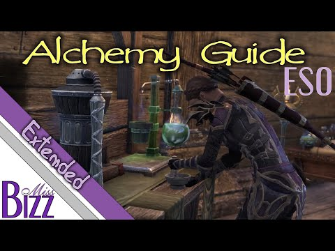 ESO Alchemy Guide - Poison Making, Potion Making in Elder Scrolls Online Alchemy - Extended